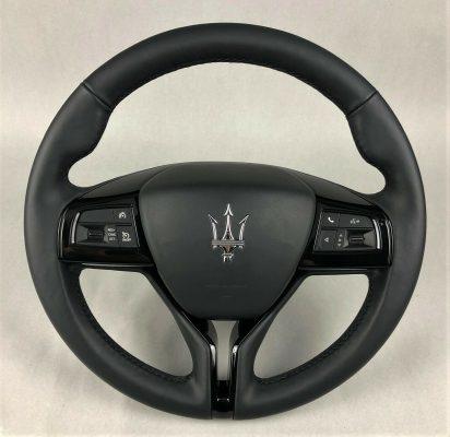 Maserati Ghibli Levante QP original black piano Lenkrad heated oe steering wheel