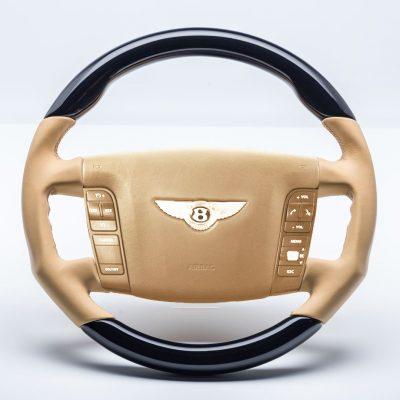 Bentley GT Mansory Perfomance Holz Lenkrad piano wood steering wheel volant
