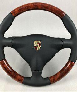 Porsche 986 993 996 Original Ahorn Holz Lenkrad light maple wood steering wheel